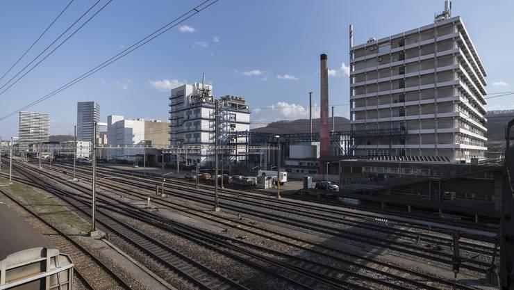 Die Firma Rohner in Pratteln.