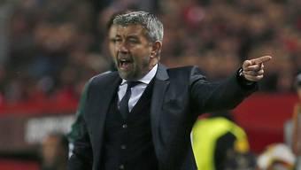 Die Niederlage gegen den FC Sevilla nagt noch immer stark an Chefcoach Urs Fischer.