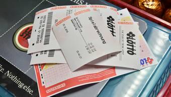 Mit einem einzigen Lotto-Schein können Sie heute 70 Millionen Franken gewinnen.