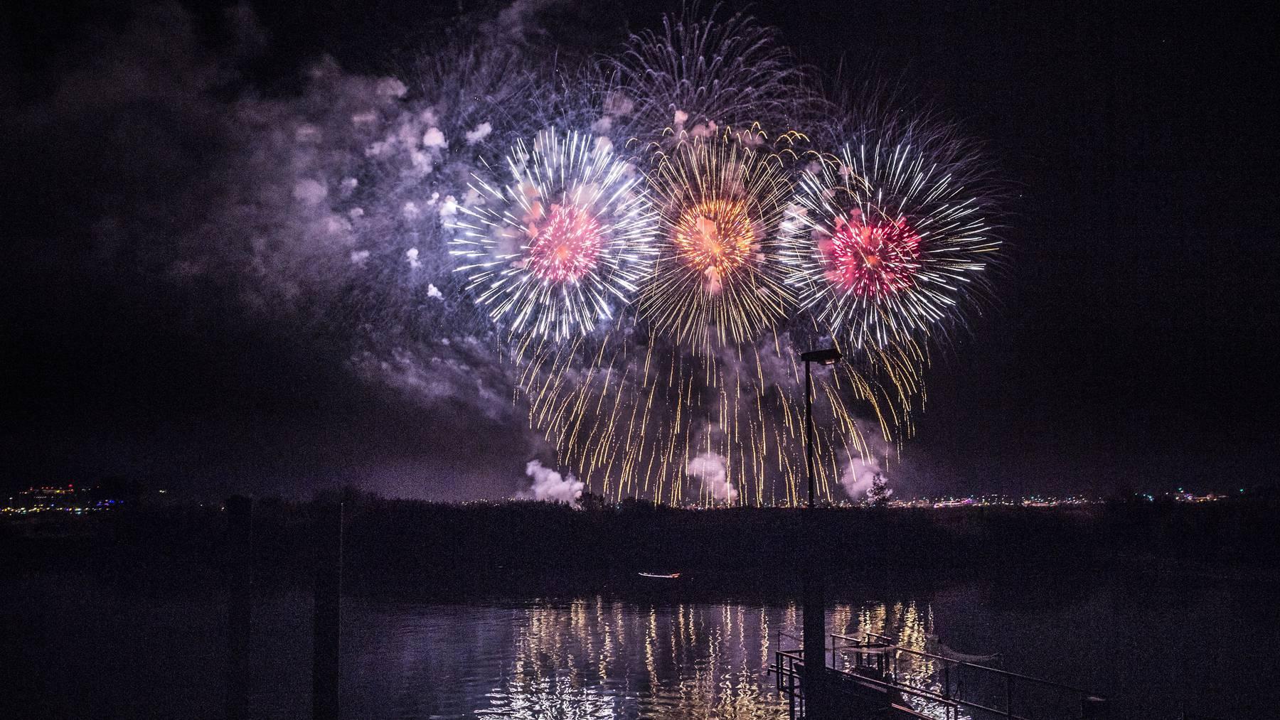 Kaum wegzudenken: Feuerwerke an Seenachtsfesten – wie hier in Kreuzlingen. (Archivbild)
