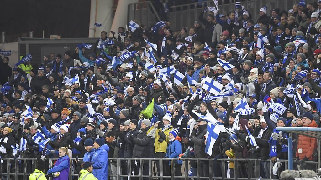 Finnlands Fussballer erstmals an einer Endrunde