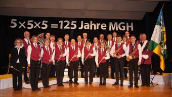 Die Musikgesellschaft Hausen feiert das 125-jährige Bestehen mit einem Jubiläumskonzert.