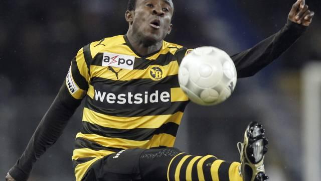 Seydou Doumbia avancierte zum YB-Matchwinner