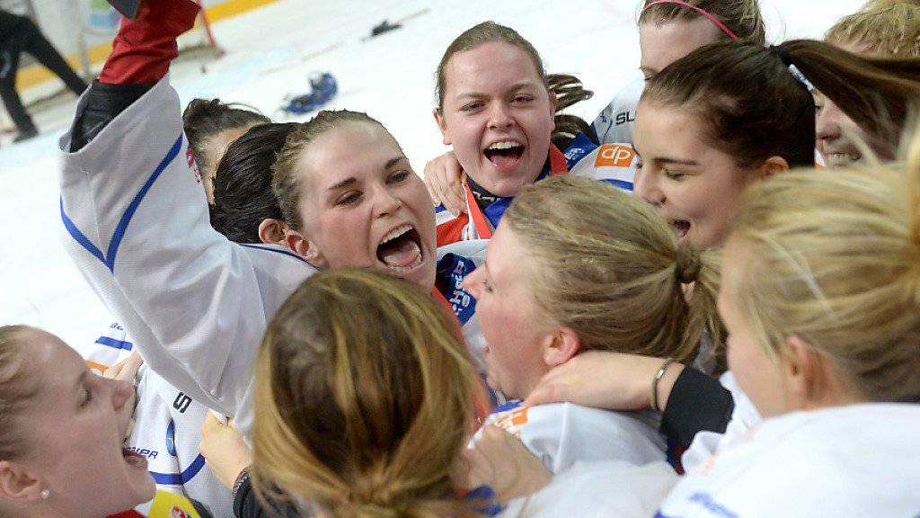 Die ZSC-Spielerinnen verteidigen ihren Meistertitel vom Vorjahr erfolgreich. (Archivbild 2016)