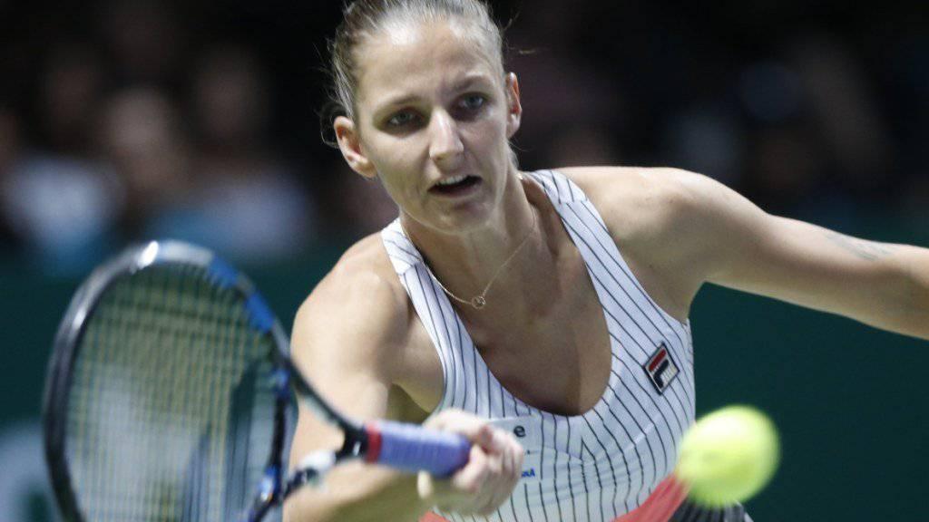 Karolina Pliskova steht bereits in den Halbfinals