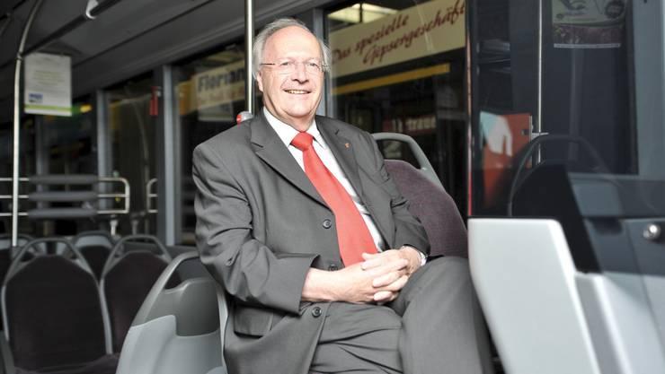 Beim Verteilkampf um öffentliche Gelder werde der öV künftig noch mehr Konkurrenz erhalten, fürchtet AAGL-Chef Hansruedi Bieri.