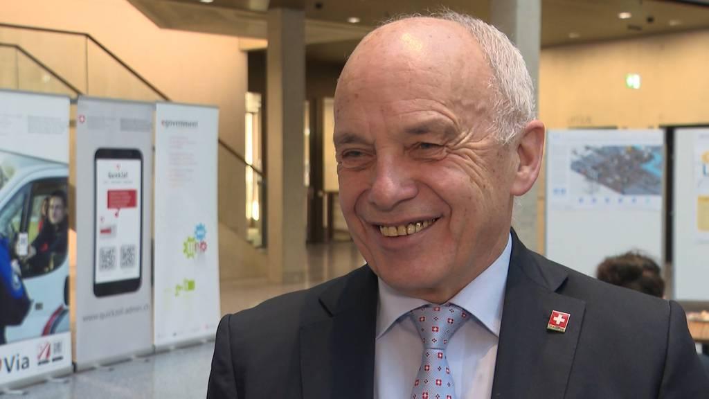 Bundespräsident Ueli Maurer zieht Bilanz