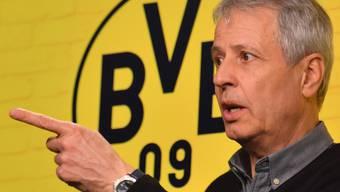 Wird sich das Team von Borussia Dortmund für Trainer Lucien Favre (im Bild) in der Champions League gegen Barcelona zerreissen?