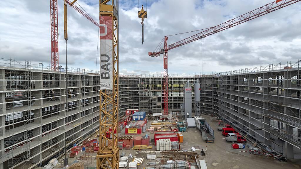 Bau steigert im zweiten Quartal den Umsatz