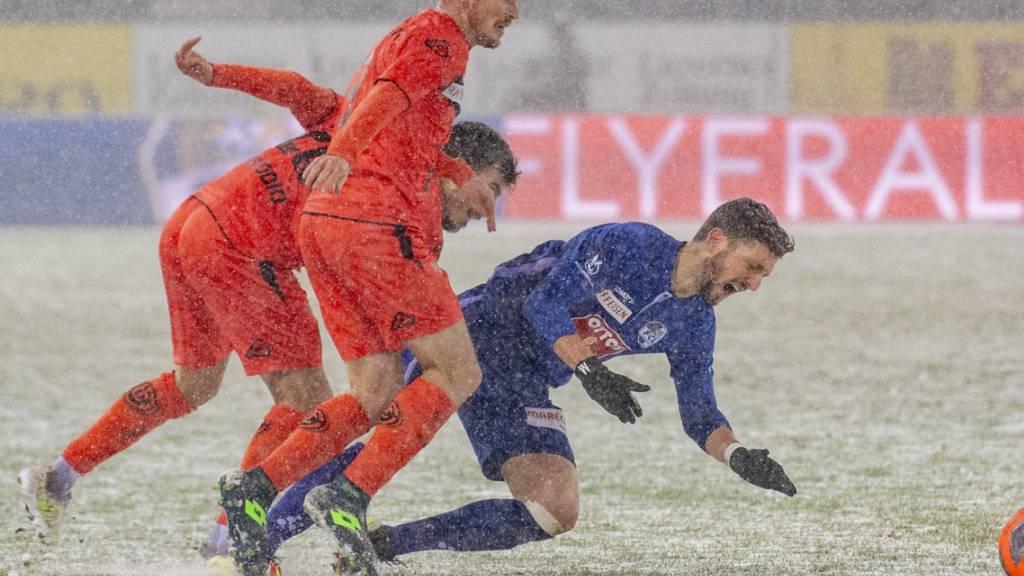 Garstiges Wetter, geteilte Punkte: Weder Luzern noch Lugano belohnen sich für einen Auftritt bei schwierigen Bedingungen mit drei Punkten