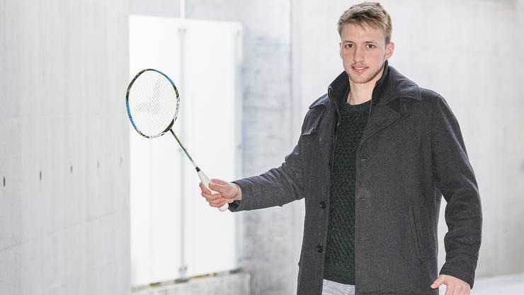 Erst mit elf Jahren tauschte Christian Kirchmayr das Tennis- gegen das Badminton-Rackett. Inspiriert zum Wechsel wurde er damals von seinem jüngeren Bruder.