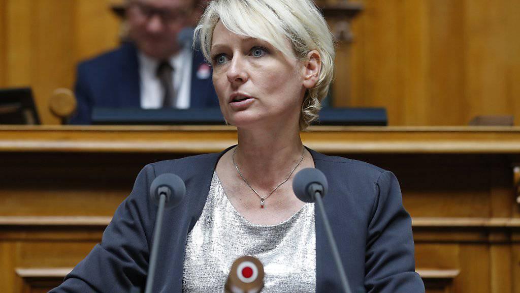 Nationalrätin Isabelle Moret will in den Bundesrat. (Archivbild)