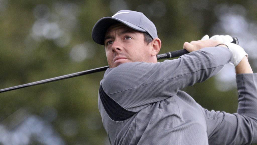 Rory McIlroy darf für die Zukunft wieder optimistischer sein