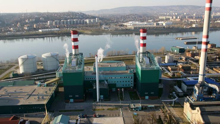 Bild eines Gaskraftwerks (Archiv)