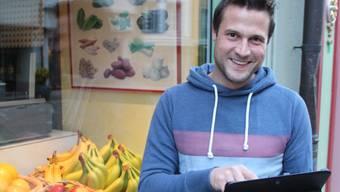 Marco Züger lässt sich überall für seine neuen Kreationen inspirieren