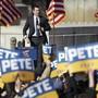 Der demokratische US-Präsidentschaftskandidat Pete Buttigieg hat seine Kandidatur zurückgezogen. (Foto: Mark Humphrey/AP Keystone-SDA)