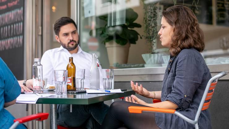 Cédric Wermuth und Mattea Meyer werden wohl das neue Präsidium der Schweiz bilden.
