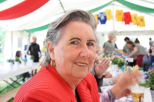 Verena Ruf-Binder wohnt zwar nicht mehr in Schlieren, kommt zum Turnen aber regelmässig wieder her.