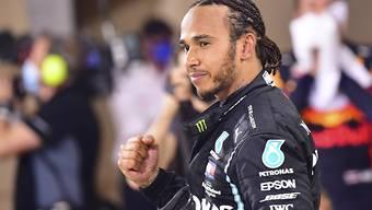 Lewis Hamilton wurde positiv auf das Coronavirus getestet
