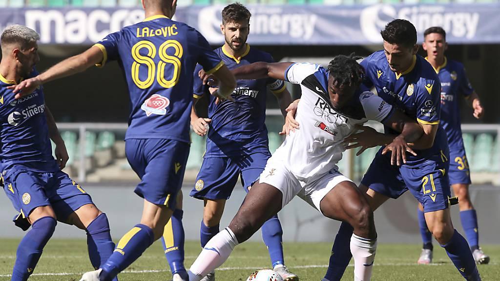 Atalanta spielt gegen Hellas Verona nur unentschieden