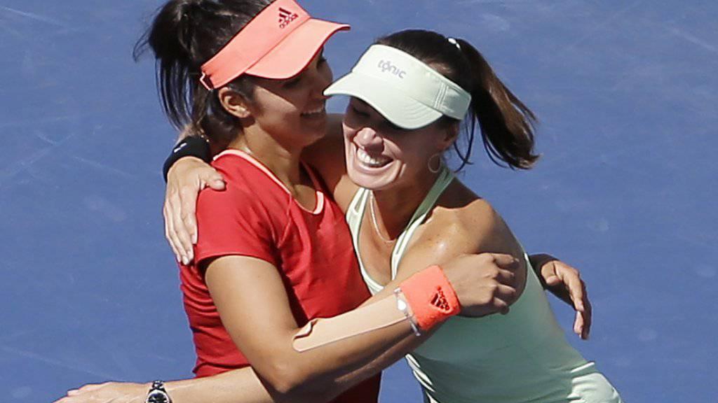 Martina Hingis und Sania Mirza dürfen sich in China über einen weiteren Turniersieg freuen
