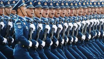 Am 4. Juni 1989 schlug die chinesische Regierung die Demonstrationen auf dem Tiananmenplatz blutig nieder. Der Tag jährt sich heuer zum 31. Mal. (Archivbild)