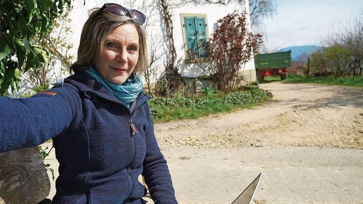 Das aktuelle Bild zu diesem Interview hat Maya Graf in der Corona-Isolation auf ihrem Hof gleich selber gemacht.