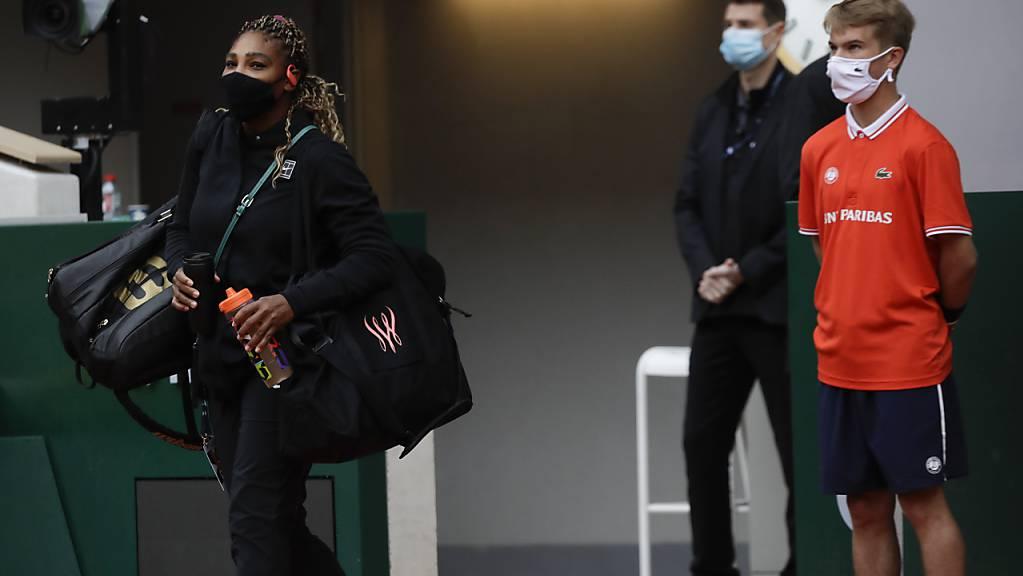 Wegen Verletzung an Achillessehne: Serena Williams tritt nicht zu ihrer Zweitrunden-Partie gegen Tsvetana Pironkova an