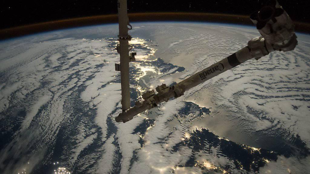 Die ISS erhält Besuch von der Erde her: Raumfrachter-Start ist geglückt. (Archiv)
