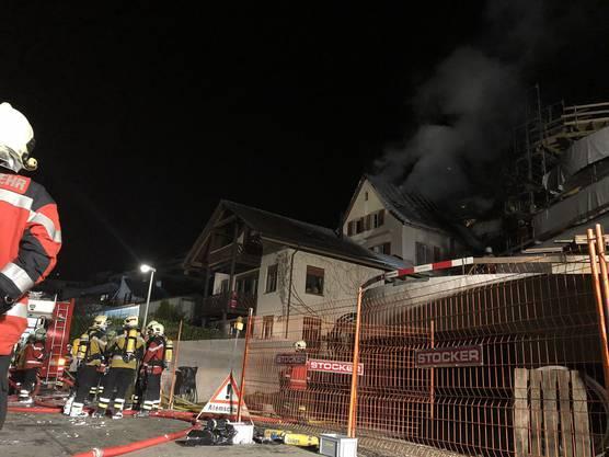 Die Bewohnerin des Hauses war nicht anwesend, als es brannte.