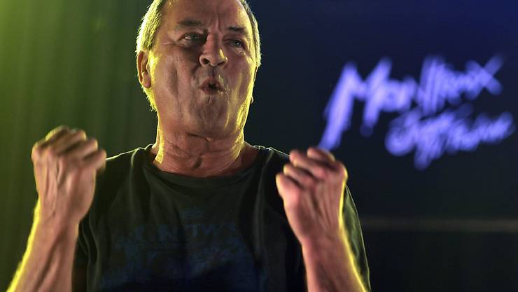 Deep-Purple-Sänger Ian Gillan am Montreux Jazz Festival 2013 (Archiv).