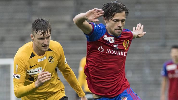 Valentin Stocker gehört zu den FCB-Spielern mit guten Statistiken.