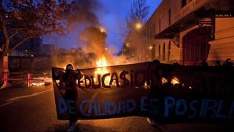 Streik in chilenischer Stadt Santiago