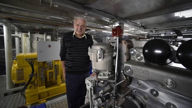Reinhard Rath leitet den Fährenbau als Projektleiter der Werft.