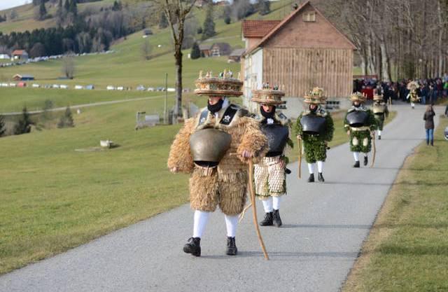 Ein Schuppel «Schöö-Wüeschti» zieht vom Winkfeld Richtung Oberwaldstatt.