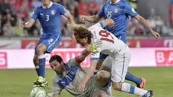 Gianluigi Buffon sicherte Italien in Prag einen Punkt