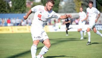 Der FC Wohlen kann mit einem Sieg am FC Chiasso vorbei ziehen.