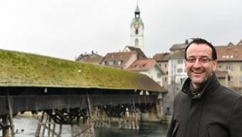 Stefan Ulrich ist Geschäftsführer von Region Olten Tourismus.