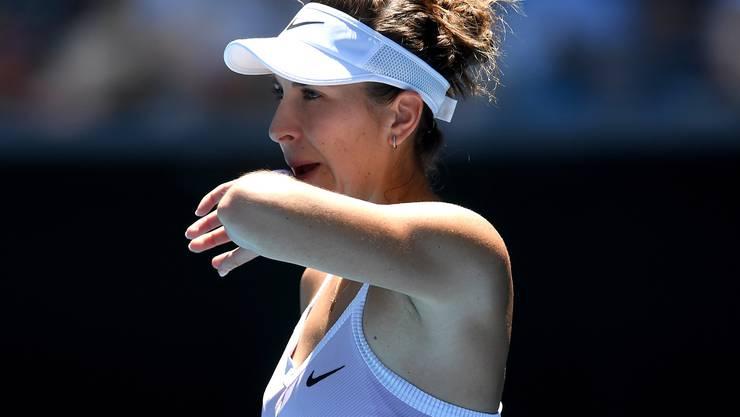 Belinda Bencic konnte die Erwartungen nicht erfüllen.