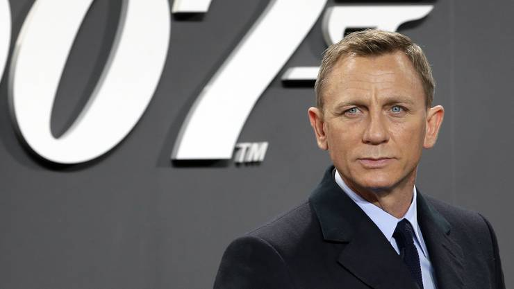 Sein letzter Auftritt als James Bond muss bis November warten: Daniel Craig.