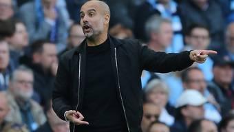 Kommt nach vier sieglosen Spielen in der Champions League mit Manchester City endlich wieder zu einem Sieg: Startrainer Pep Guardiola
