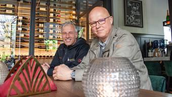 «Wir sind auf unsere Gäste vorbereitet», sagen Markus Bürgi und Roland Suter (v.l.).