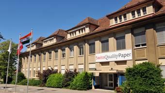 Fabrik der Papieri Balsthal