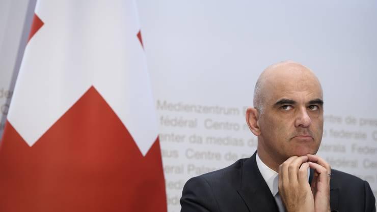 Alain Berset fürchtet, dass sich die Lage im Herbst verschlimmern könnte.