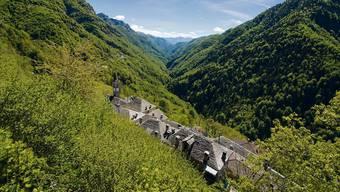 Comologno im Onsernonetal im Gebiet des geplanten Nationalparks.