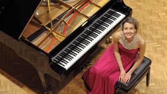 Arta Arnicane ist als Solistin und Kammermusikerin unterwegs in der grossen Musikwelt.Andreas Zihler/ho