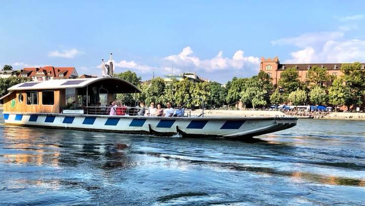 Eine Fahrt mit der Fähre (hier die Fähre Vogel Gryff) gehört zum Schönsten, was man in Basel machen kann.