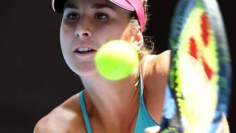 Für Belinda Bencic ist das WTA-Turnier in St. Petersburg bereits nach der 1. Runde zu Ende