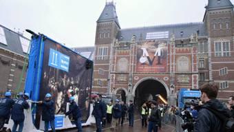 Das Rijksmuseum in Amsterdam (Archiv)