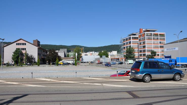 Aus dem Silbern-Platz soll der neun Bahnhof Silbern werden.
